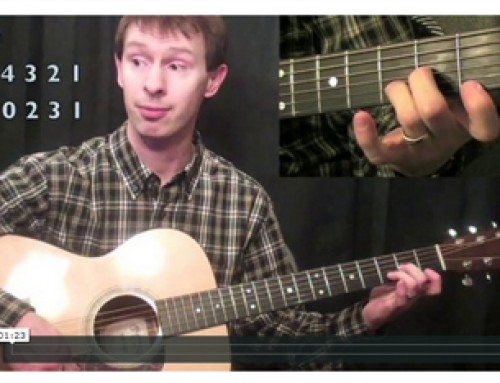 How To Play Open Minor Chords