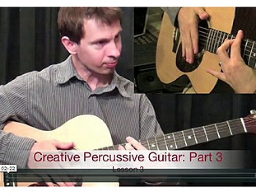 Percussive Guitar To A New Level