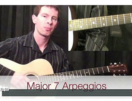 How To Play Major 7 Arpeggios