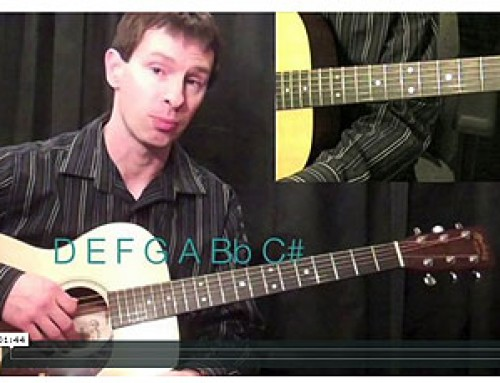 How To Play The D Harmonic Minor Scale