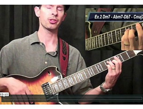 Learn To Play Substitutes For The 2-5-1's Chord Progression