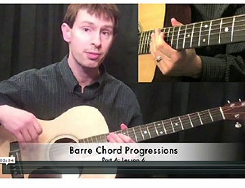 How To Play Barre Chord Progressions