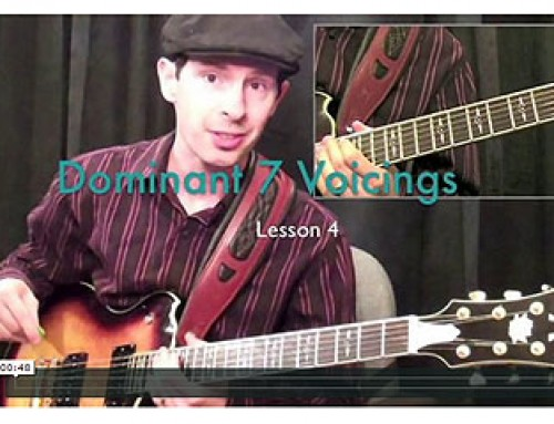 How To Play Dominant 7 Chord Voicing's