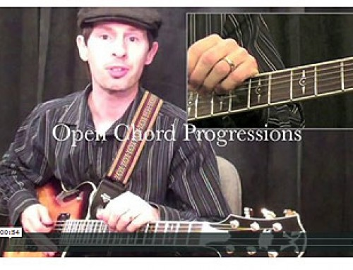 How To Play Open Chord Sequences