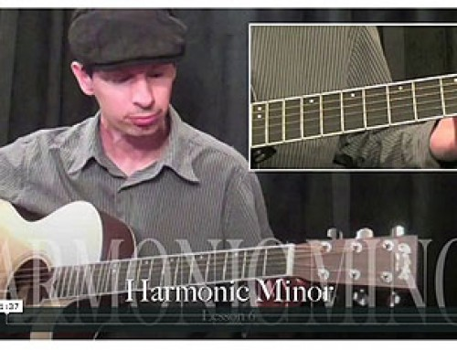 How To Play Harmonic Minor Scales