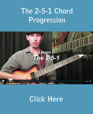 Learn The The 2-5-1 Chord Progression