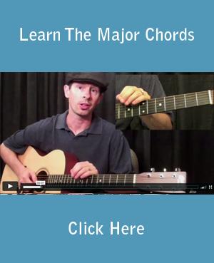 Learn The Major Chords