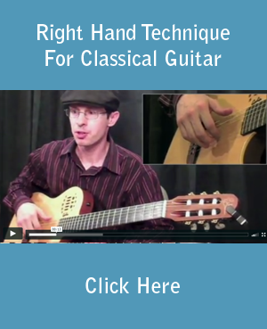 Right Hand Technique For Classical Guitar