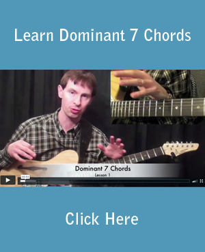 Learn Dominant 7 Chords
