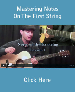 Mastering Notes On The First String