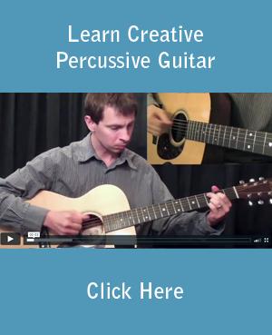 Learn Creative Percussive Guitar