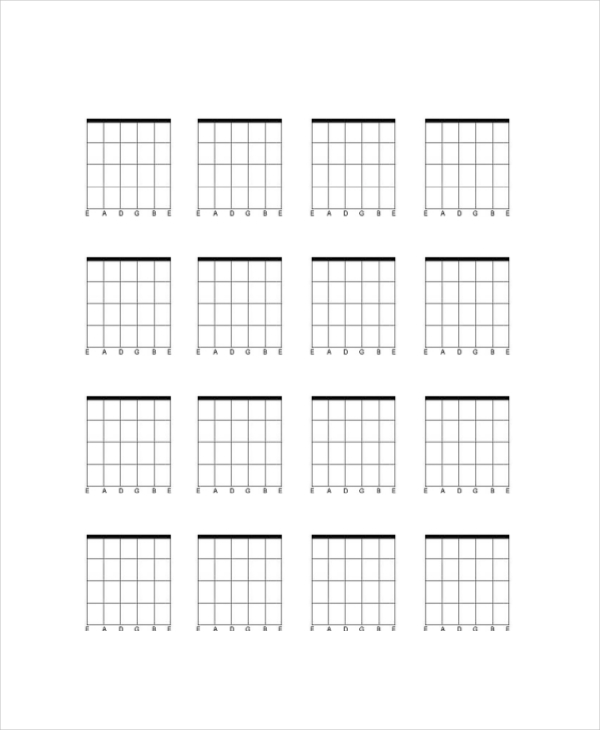 graphic relating to Printable Guitar Chords Chart called Totally free Guitar Chord Chart For Any Aspiring Guitarist