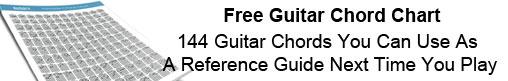 Free Chord Chart
